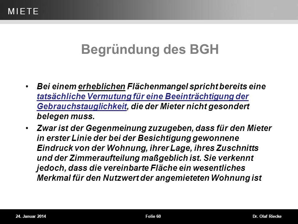 Begründung des BGH