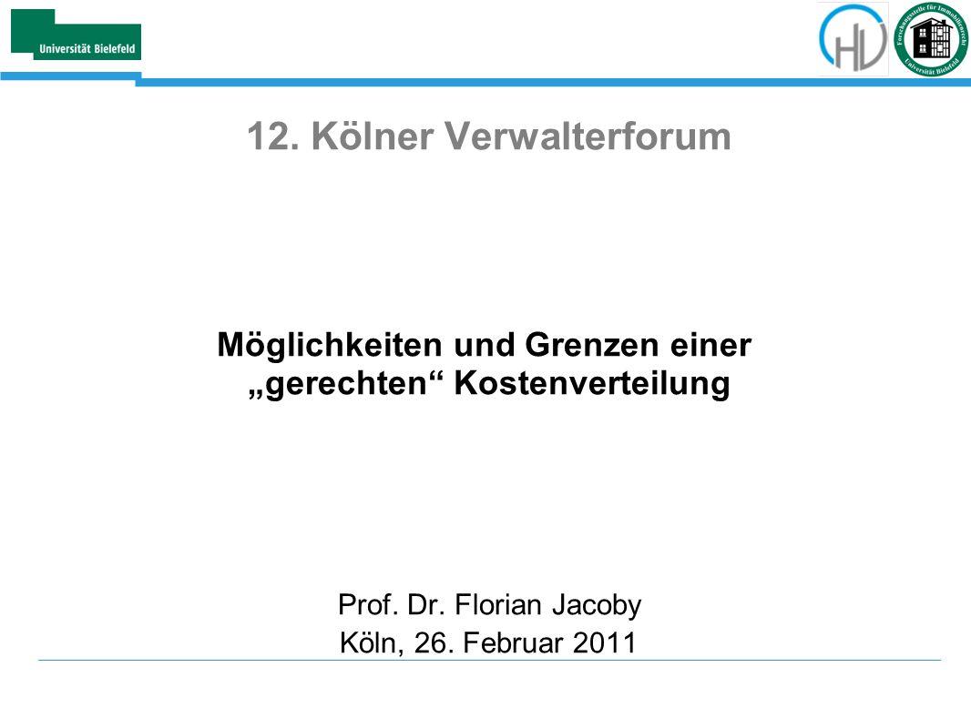 12. Kölner Verwalterforum