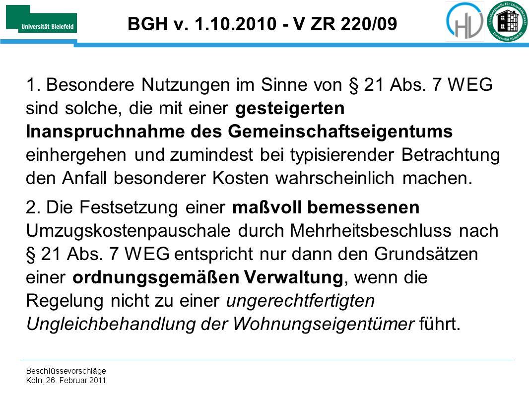 BGH v. 1.10.2010 - V ZR 220/09