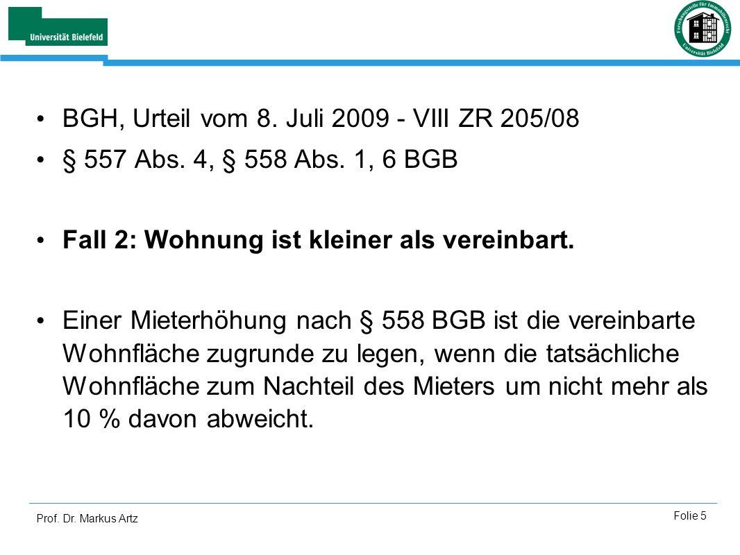 BGH, Urteil vom 8. Juli 2009 - VIII ZR 205/08
