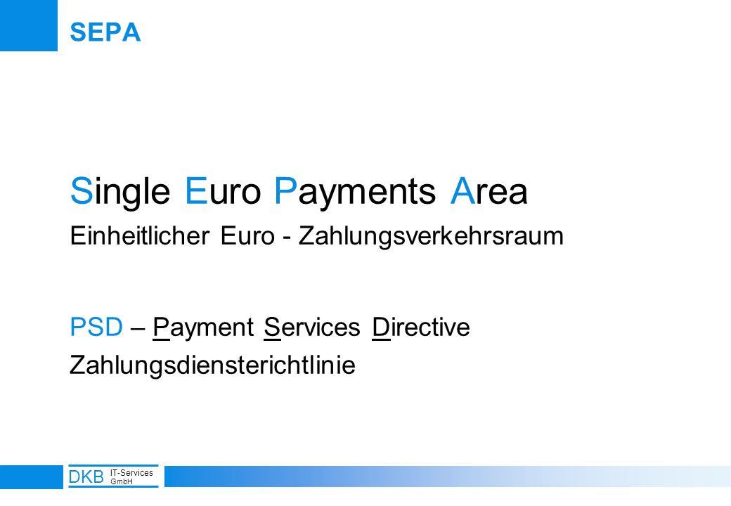 Single Euro Payments Area