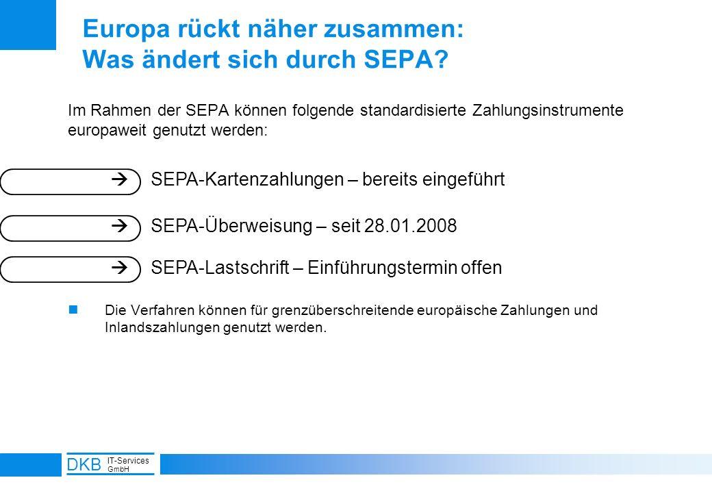 Europa rückt näher zusammen: Was ändert sich durch SEPA