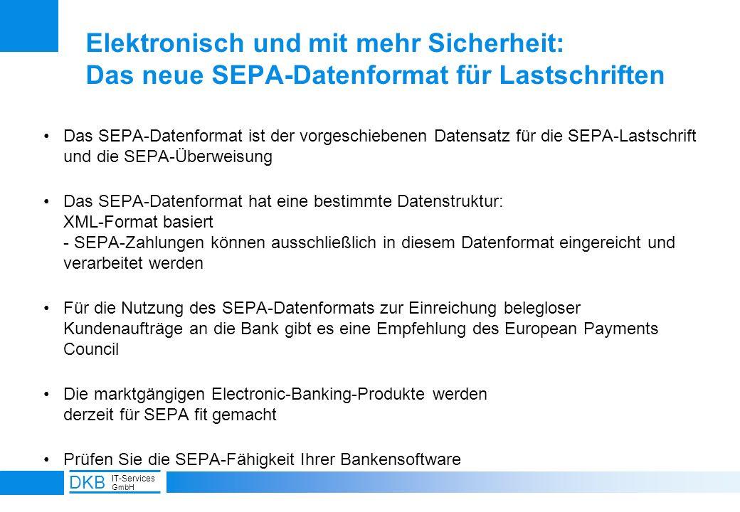 Elektronisch und mit mehr Sicherheit: Das neue SEPA-Datenformat für Lastschriften