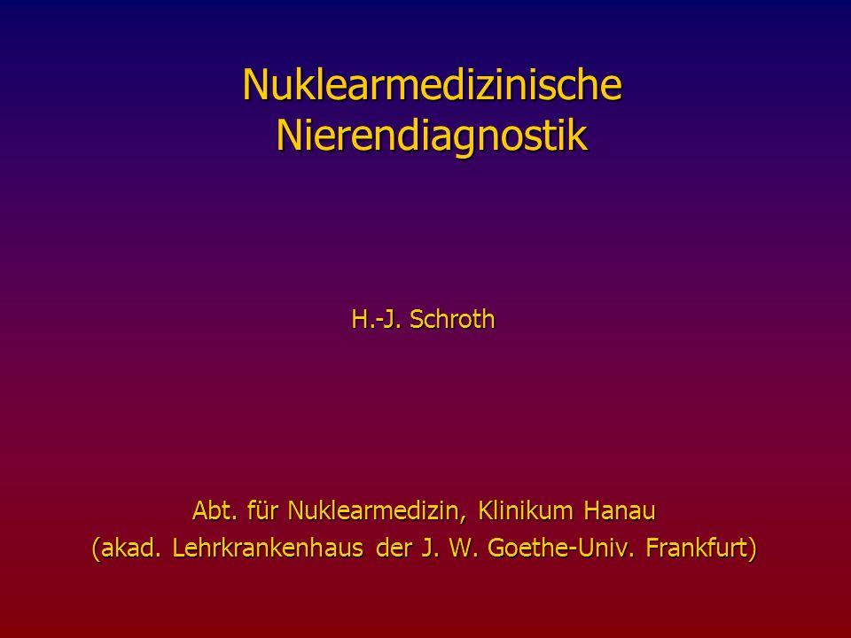 Nuklearmedizinische Nierendiagnostik