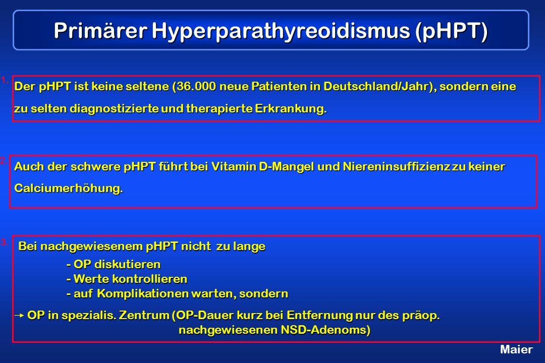 Primärer Hyperparathyreoidismus (pHPT)