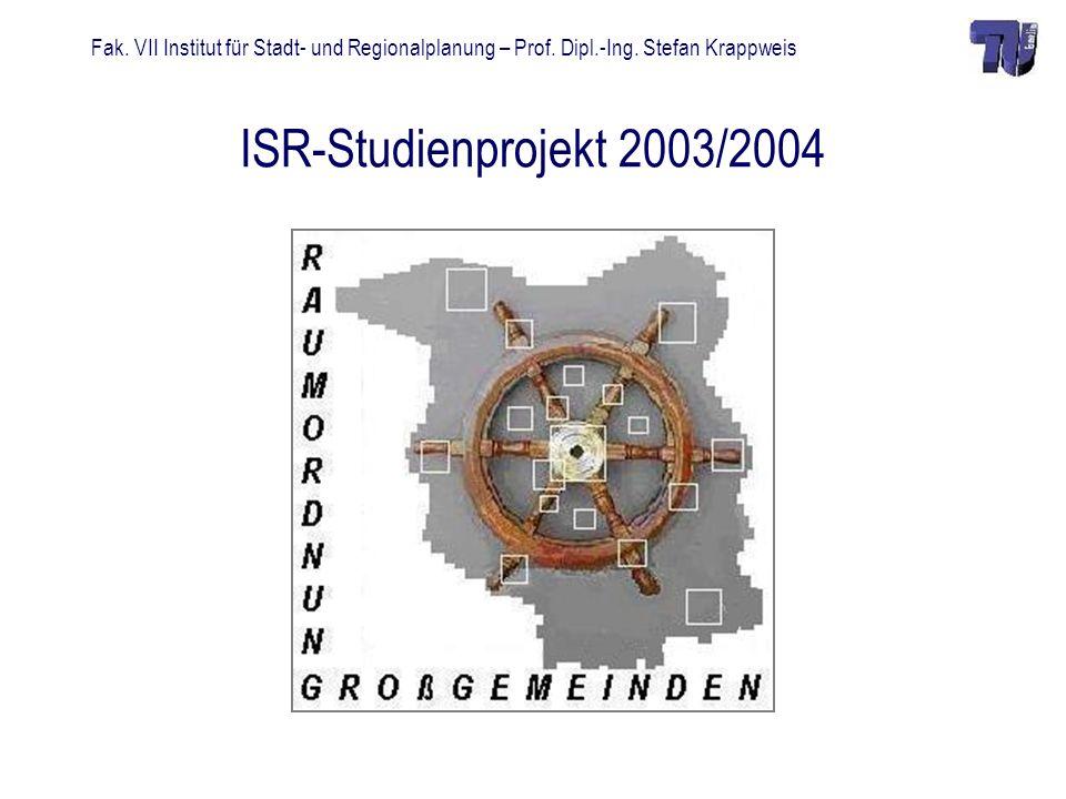 ISR-Studienprojekt 2003/2004