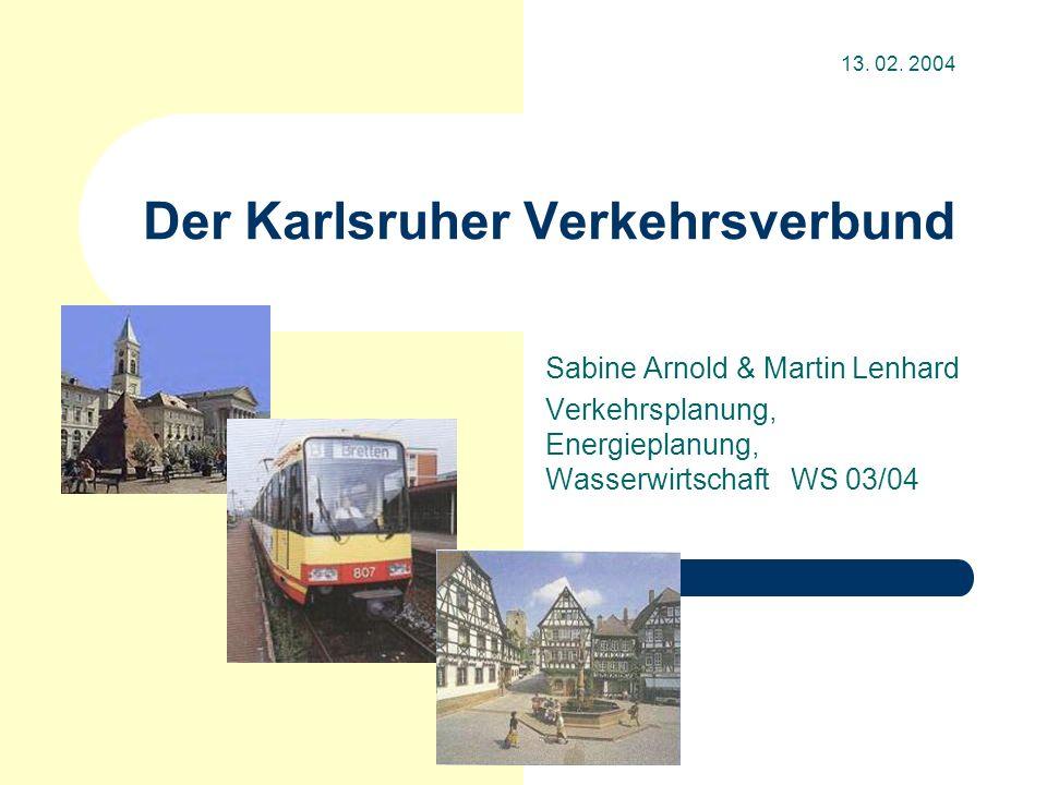 Der Karlsruher Verkehrsverbund