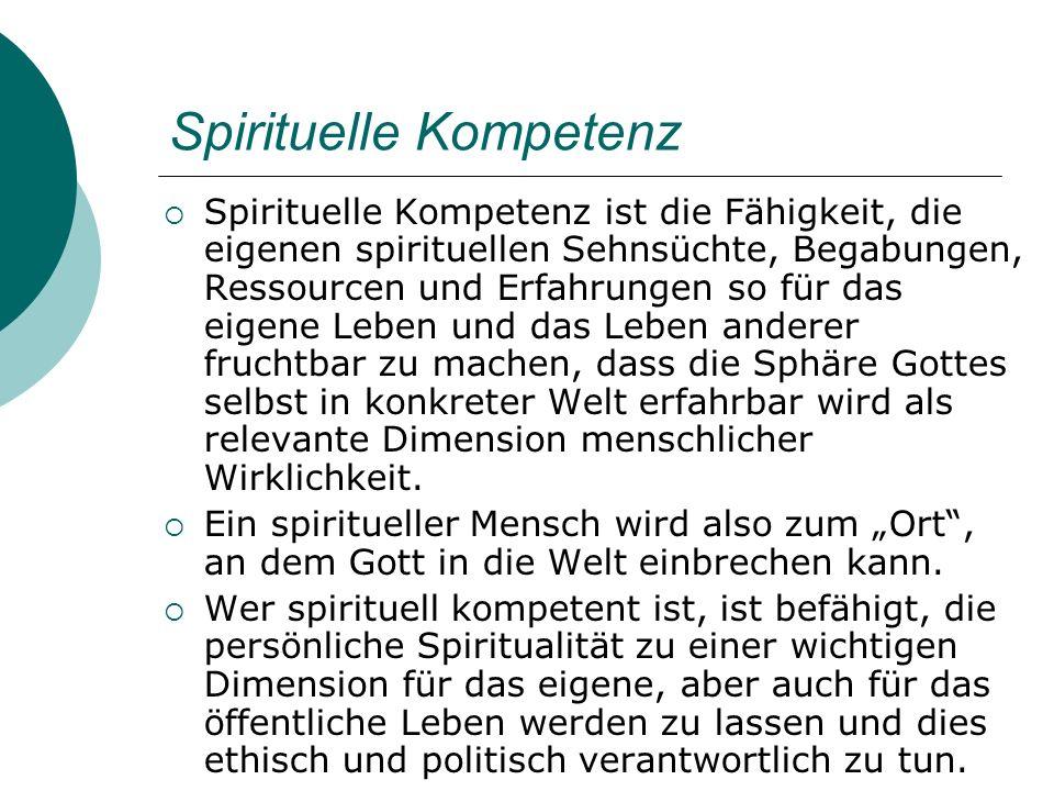 Spirituelle Kompetenz