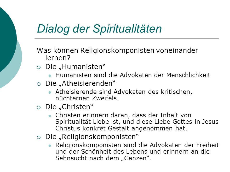 Dialog der Spiritualitäten
