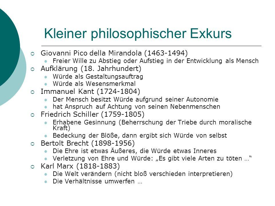 Kleiner philosophischer Exkurs