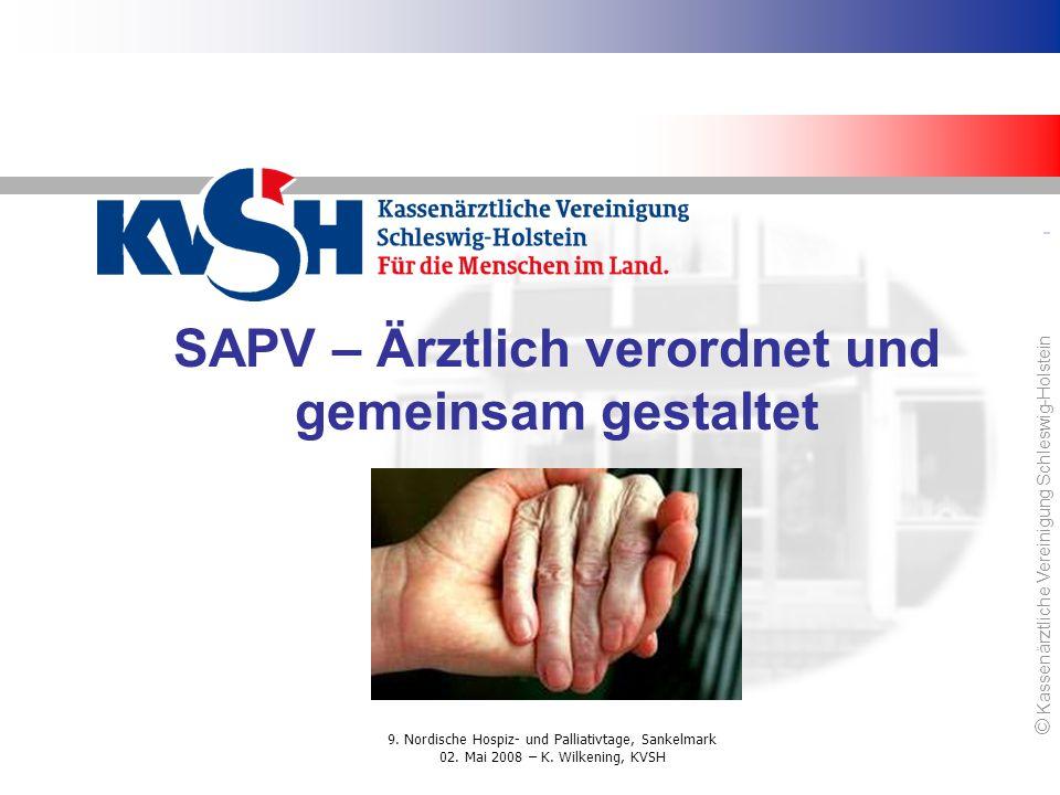 SAPV – Ärztlich verordnet und gemeinsam gestaltet