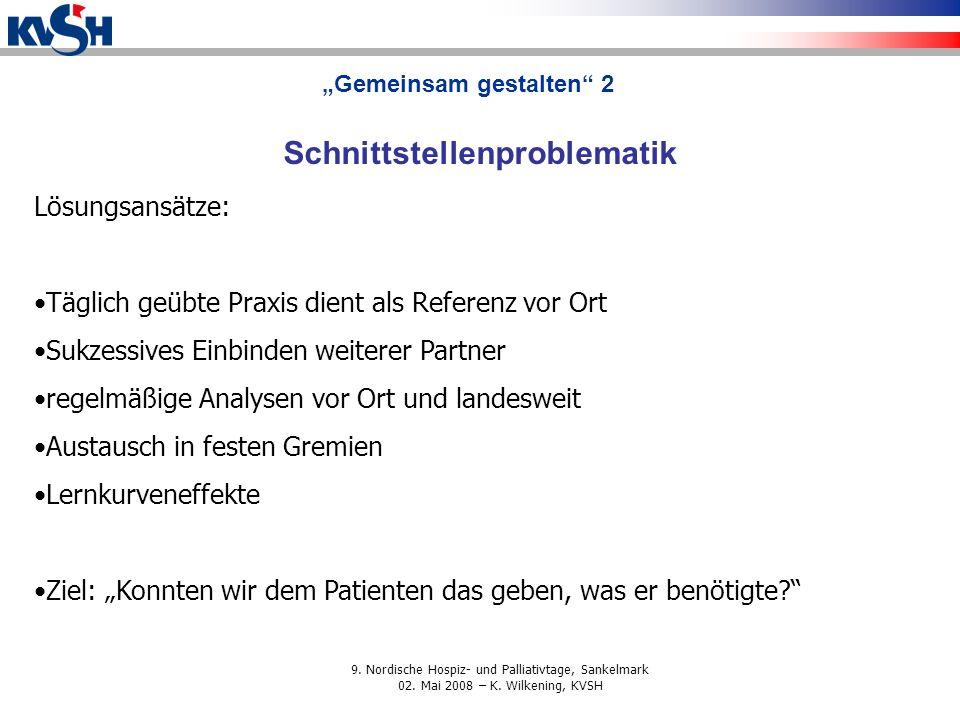 """""""Gemeinsam gestalten 2 Schnittstellenproblematik"""
