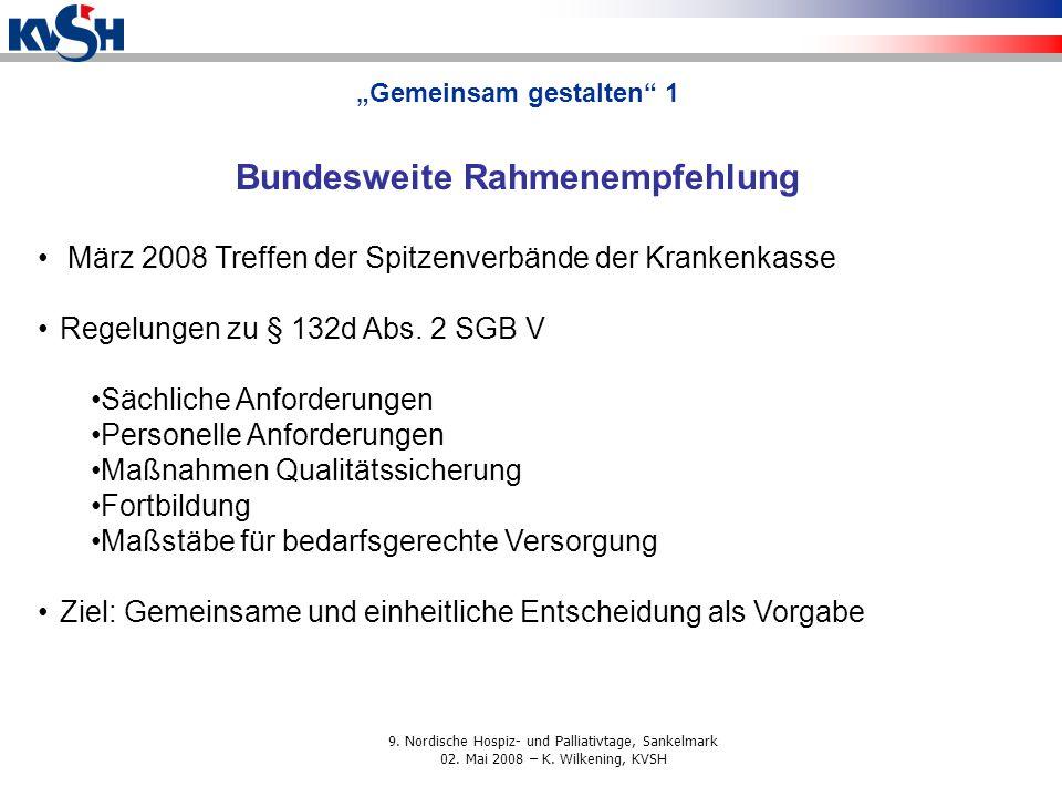 """""""Gemeinsam gestalten 1 Bundesweite Rahmenempfehlung"""
