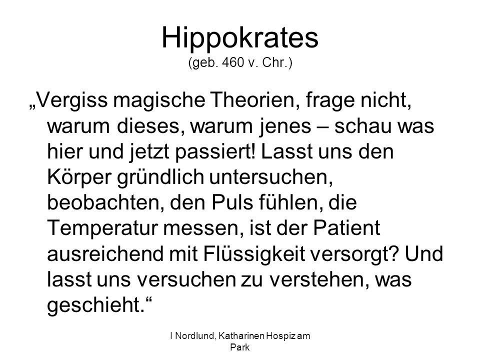 Hippokrates (geb. 460 v. Chr.)