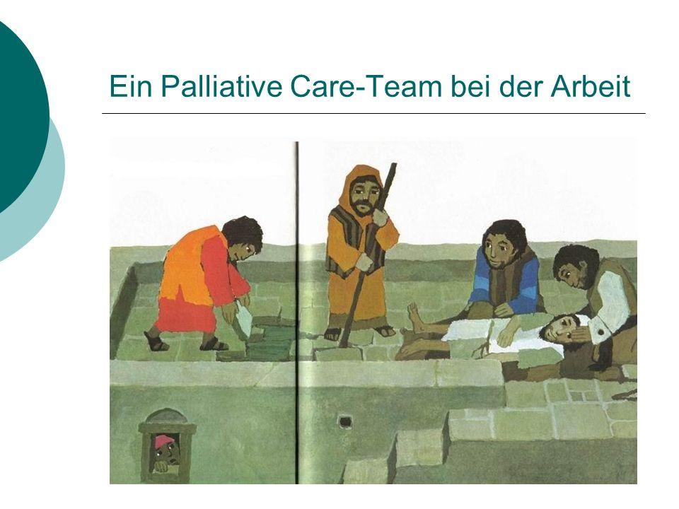 Ein Palliative Care-Team bei der Arbeit