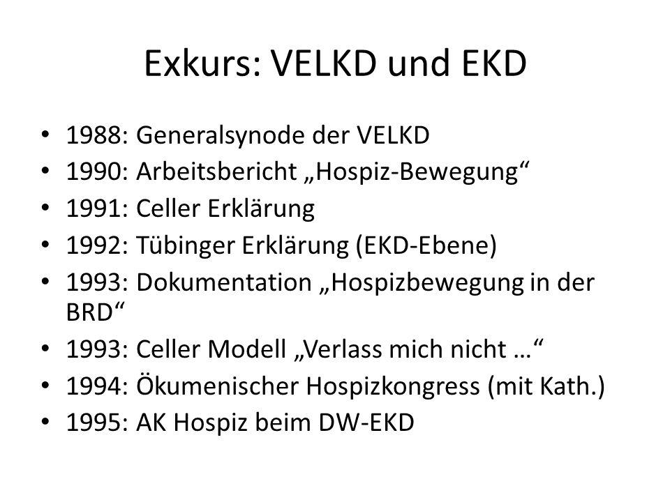 Exkurs: VELKD und EKD 1988: Generalsynode der VELKD