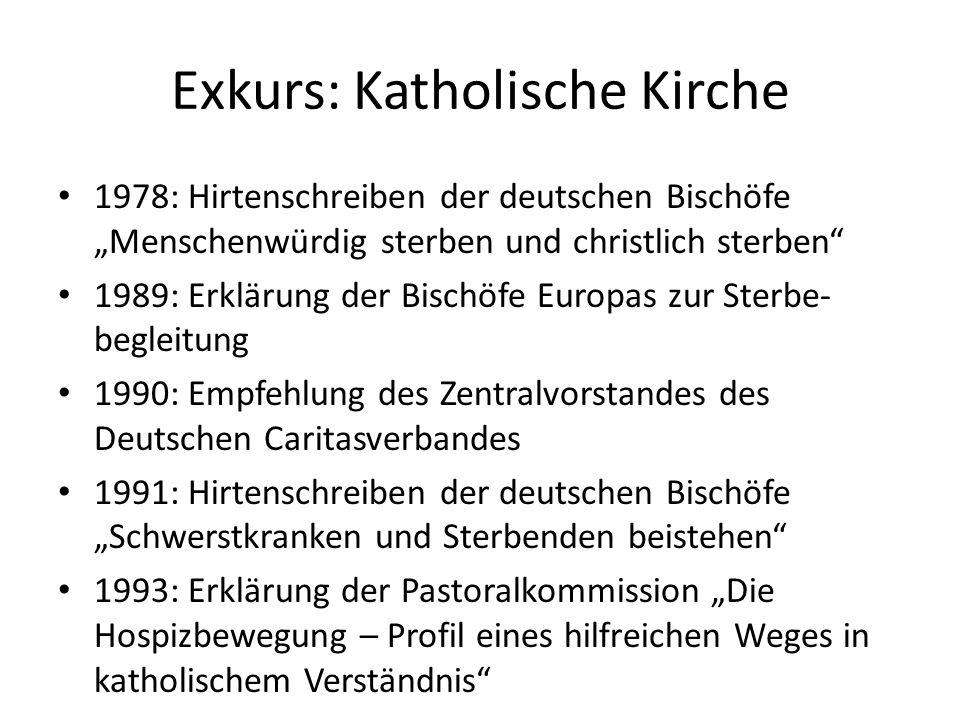 Exkurs: Katholische Kirche