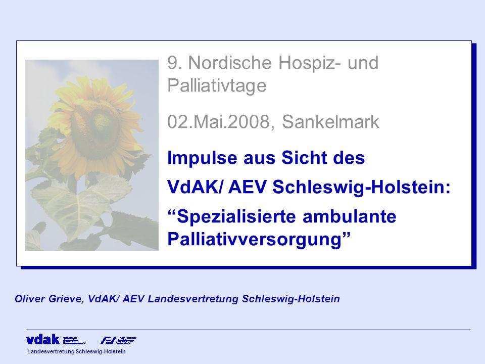 9. Nordische Hospiz- und Palliativtage 02.Mai.2008, Sankelmark
