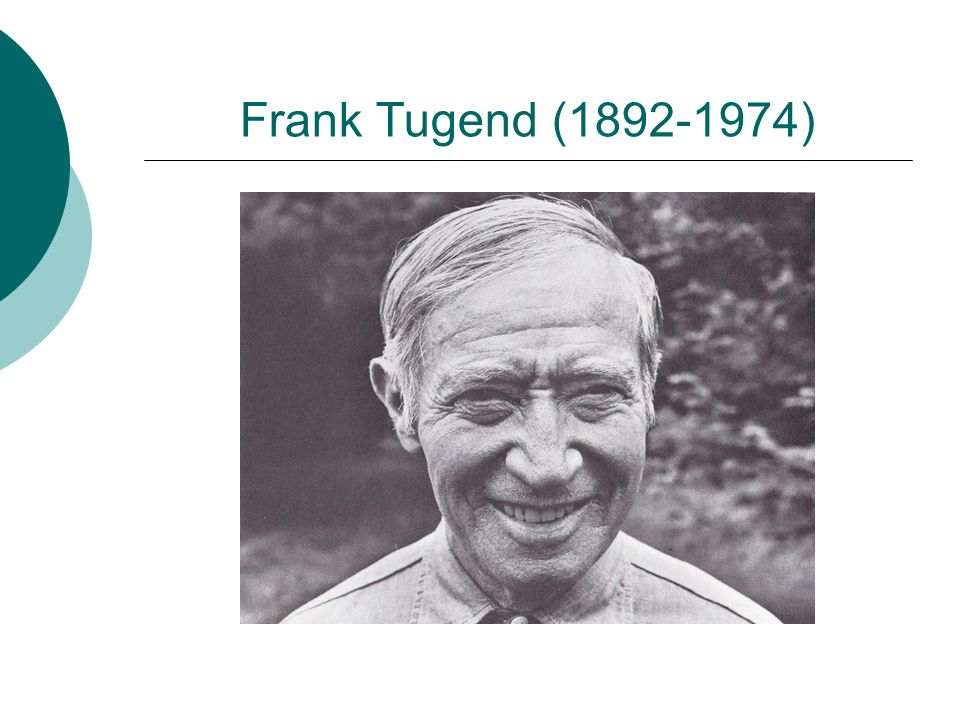 Frank Tugend (1892-1974)