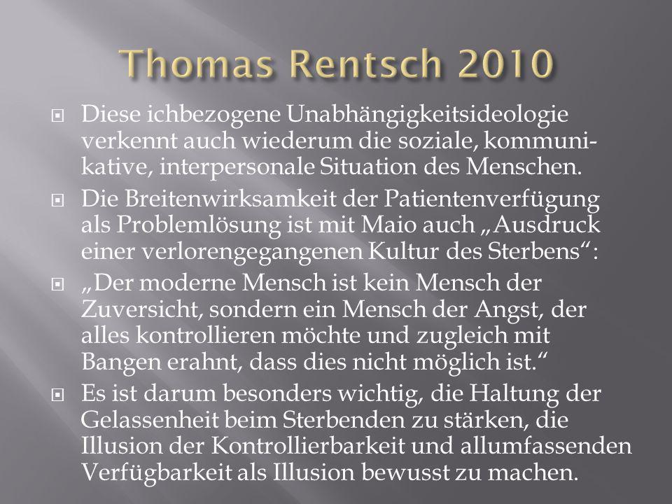 Thomas Rentsch 2010