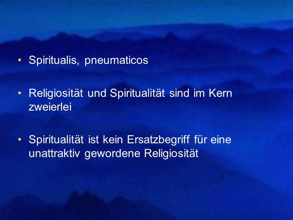 Spiritualis, pneumaticos
