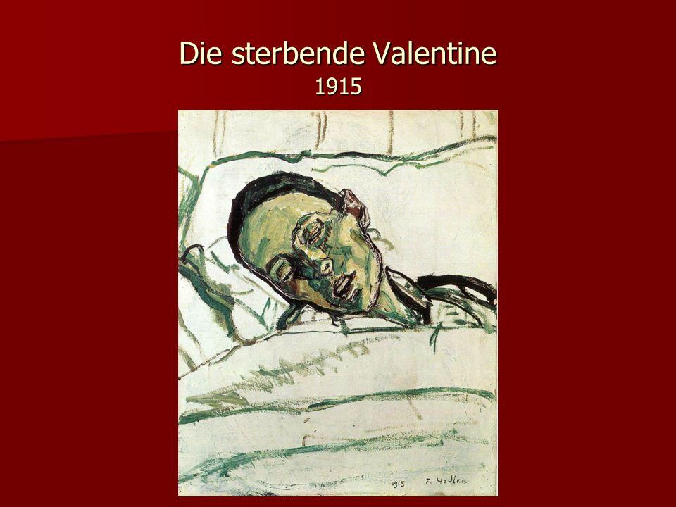 Die sterbende Valentine 1915