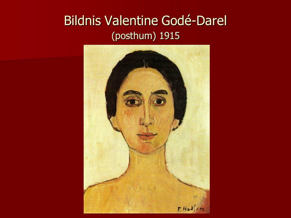 Bildnis Valentine Godé-Darel (posthum) 1915