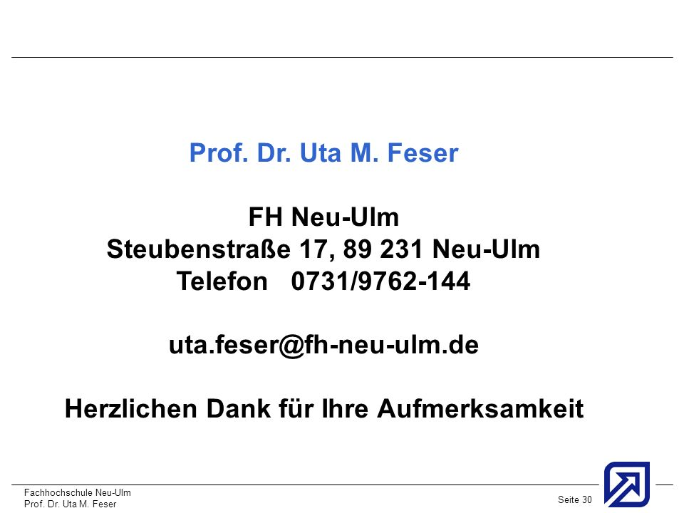 Steubenstraße 17, 89 231 Neu-Ulm Telefon 0731/9762-144