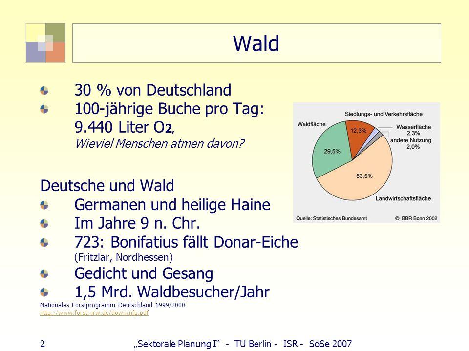 Wald 30 % von Deutschland 100-jährige Buche pro Tag: 9.440 Liter O2,