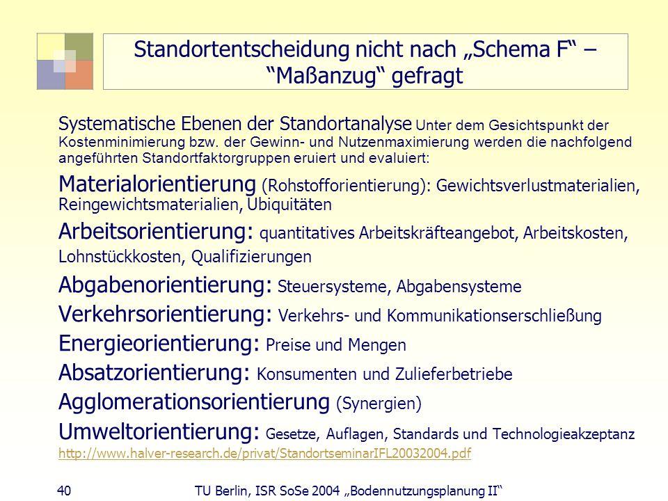 """Standortentscheidung nicht nach """"Schema F – Maßanzug gefragt"""