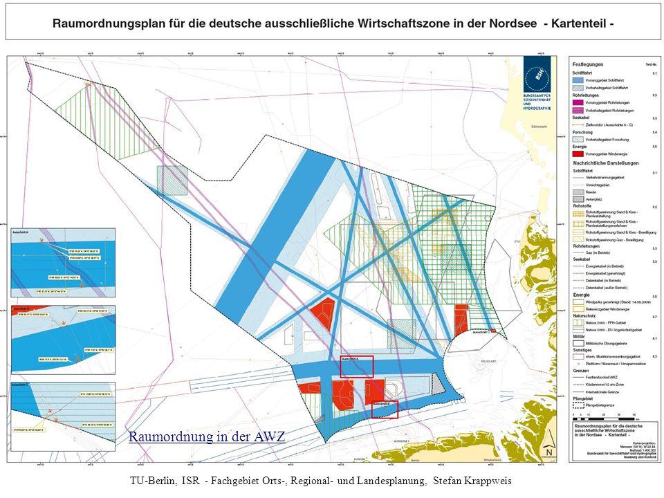 Anlage zur Verordnung über die Raumordnung in der deutschen ausschließlichen Wirtschaftszone in der Nordsee (AWZ Nordsee-ROV) vom 21. September 2009
