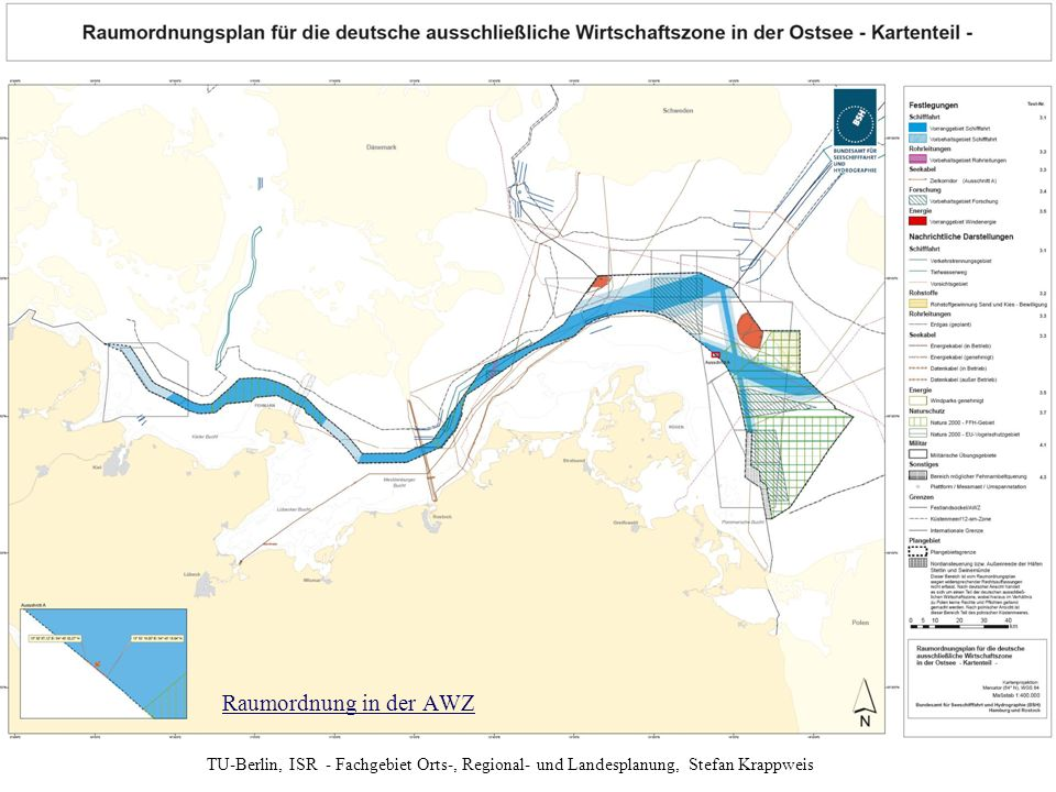 Anlage zur Verordnung über die Raumordnung in der deutschen ausschließlichen Wirtschaftszone in der Ostsee (AWZ Ostsee-ROV) vom 10. Dezember 2009