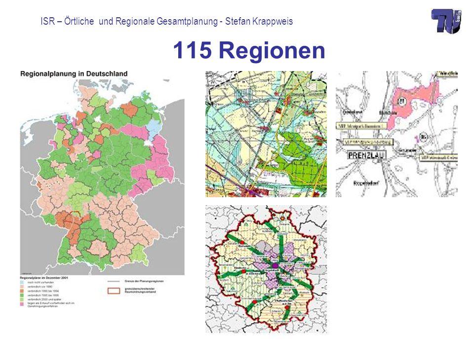 115 Regionen