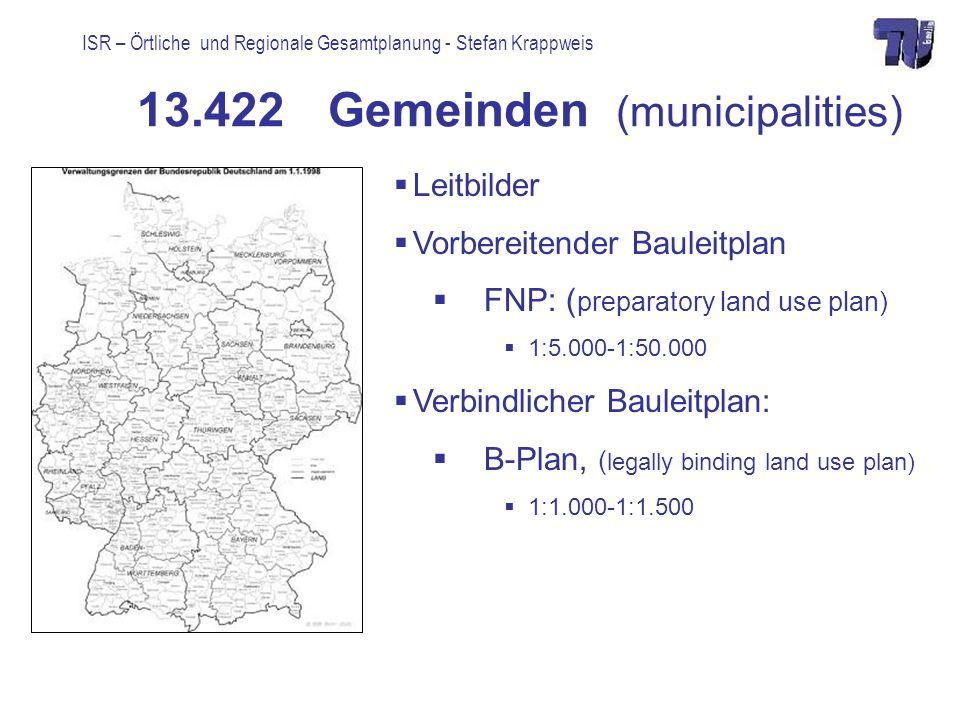 13.422 Gemeinden (municipalities)
