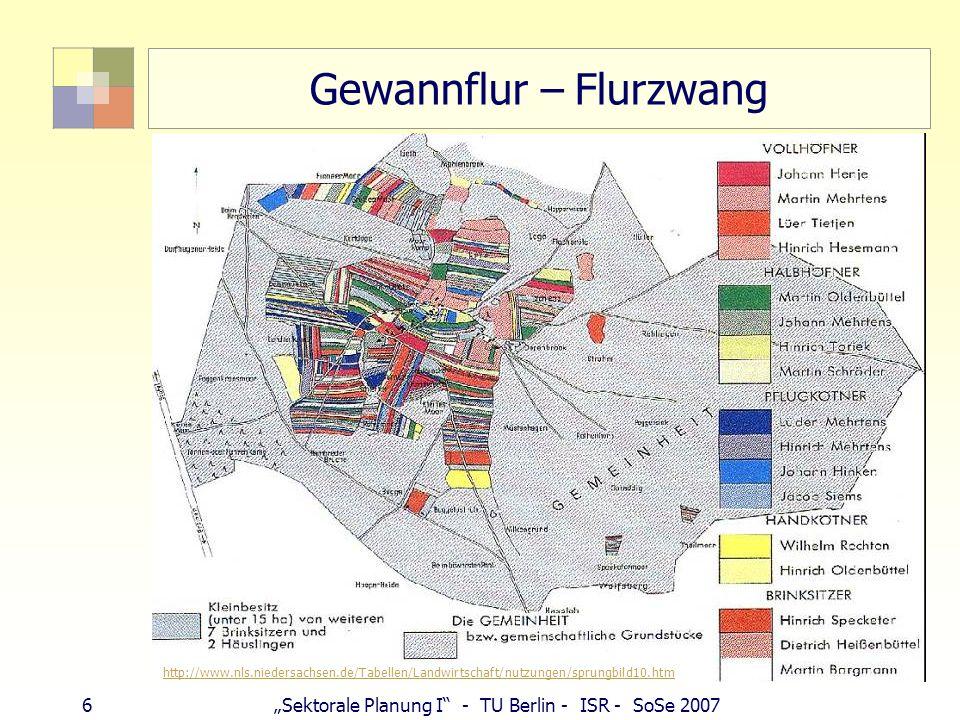 Gewannflur – Flurzwang