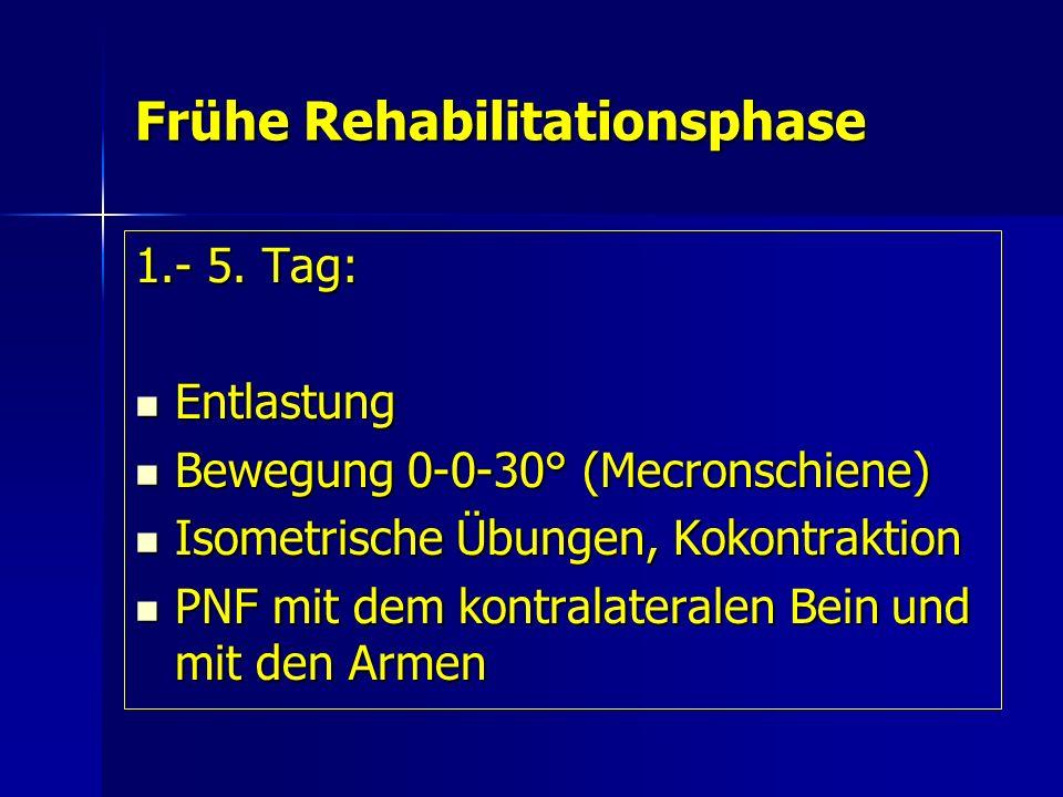 Frühe Rehabilitationsphase