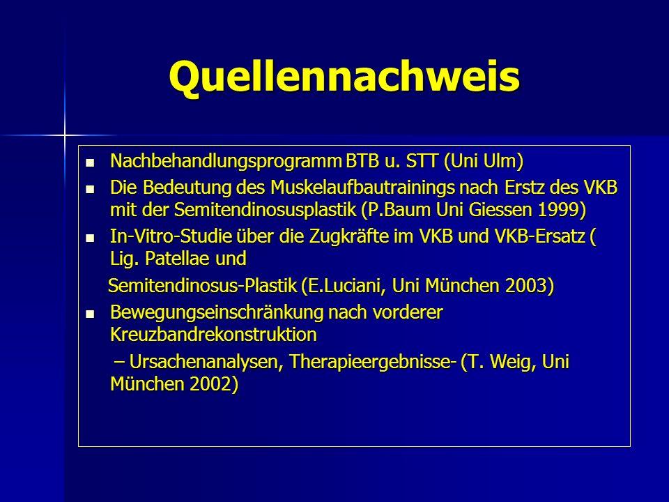 Quellennachweis Nachbehandlungsprogramm BTB u. STT (Uni Ulm)