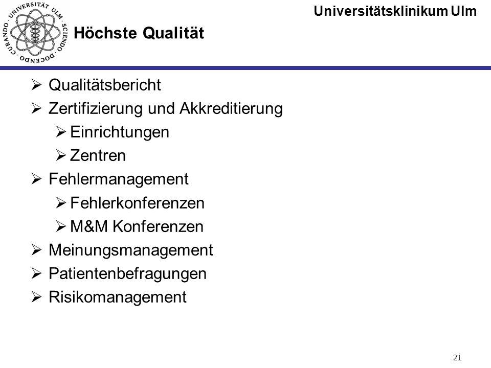 Zertifizierung und Akkreditierung Einrichtungen Zentren