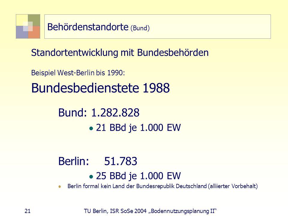 Behördenstandorte (Bund)