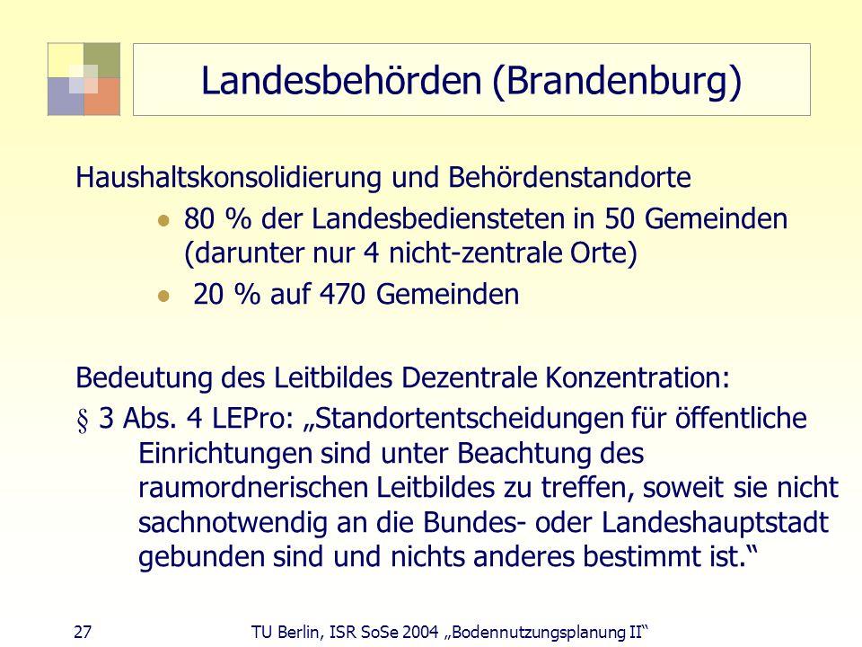 Landesbehörden (Brandenburg)