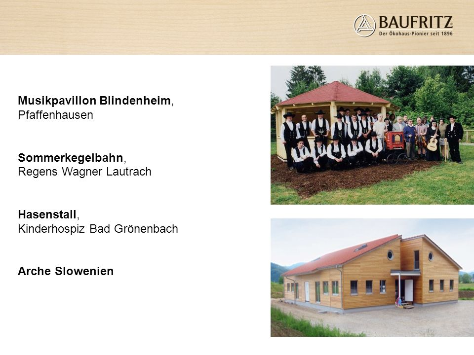 Musikpavillon Blindenheim, Pfaffenhausen