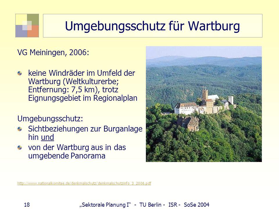 Umgebungsschutz für Wartburg