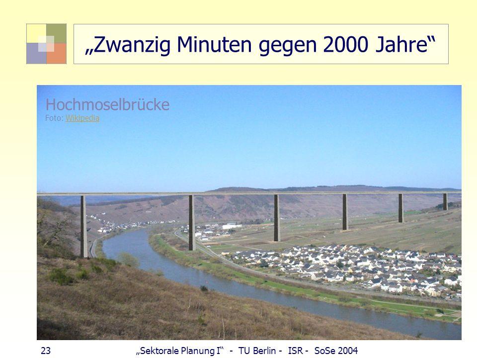 """""""Zwanzig Minuten gegen 2000 Jahre"""