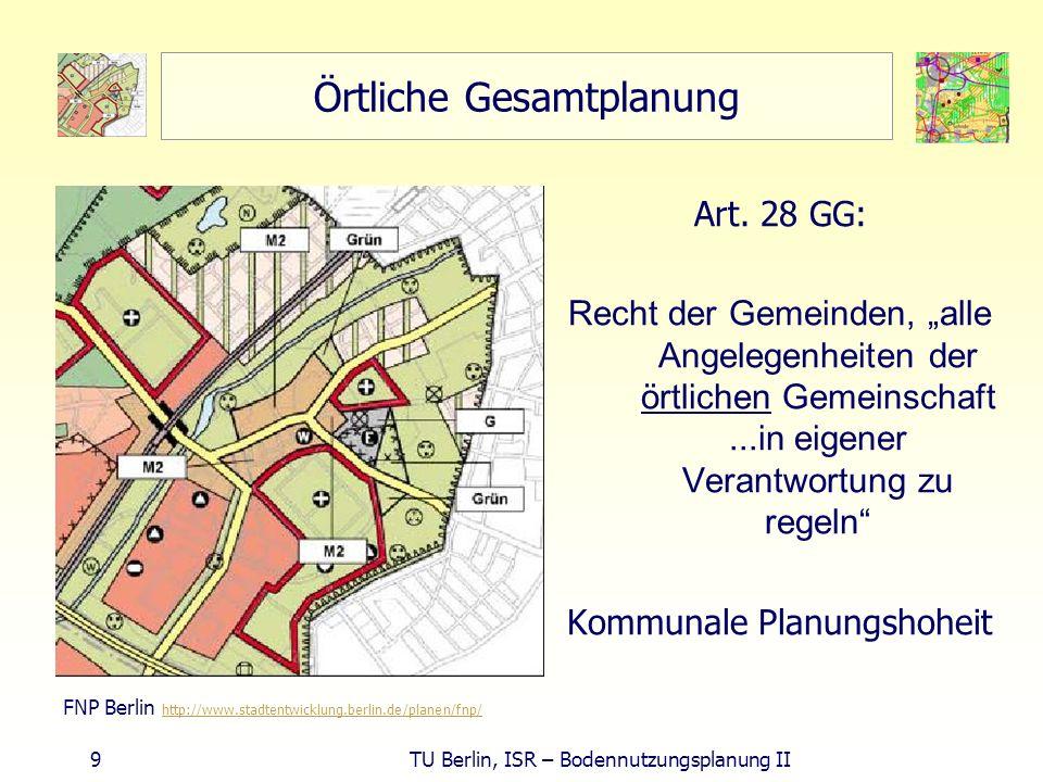 Örtliche Gesamtplanung