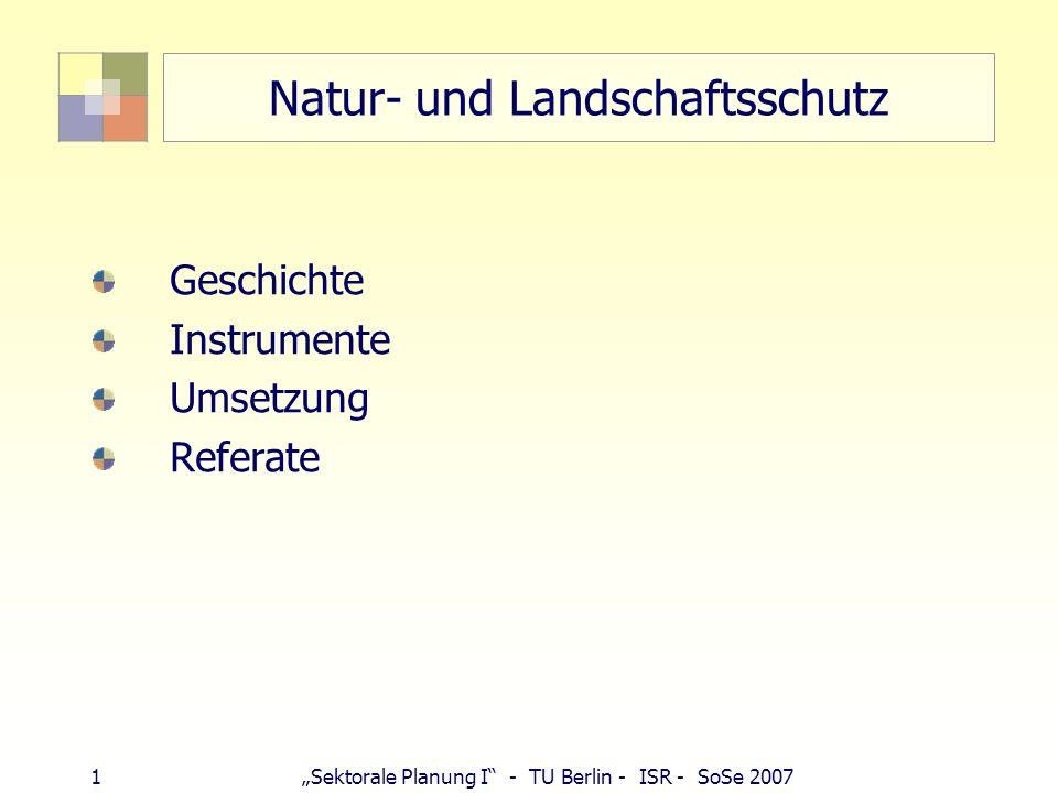 Natur- und Landschaftsschutz