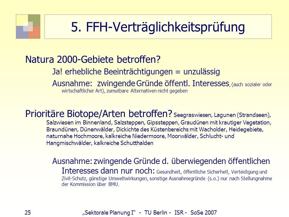 5. FFH-Verträglichkeitsprüfung
