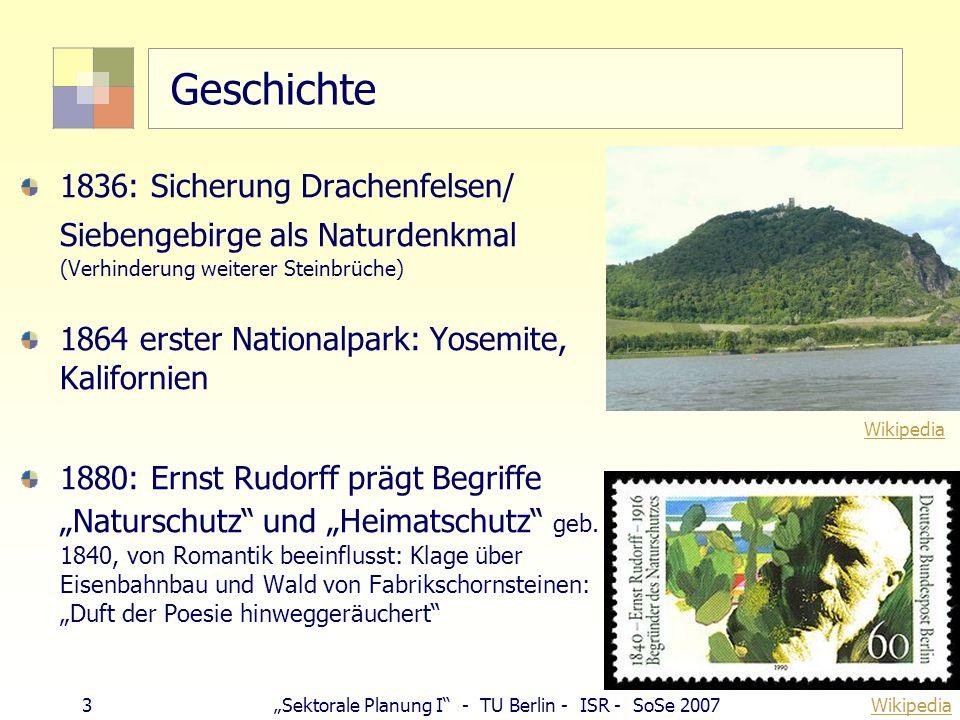 Geschichte 1836: Sicherung Drachenfelsen/ Siebengebirge als Naturdenkmal (Verhinderung weiterer Steinbrüche)