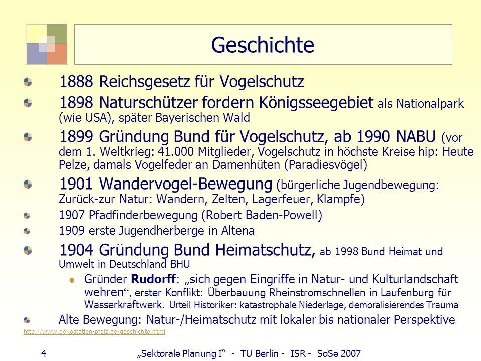 Geschichte 1888 Reichsgesetz für Vogelschutz