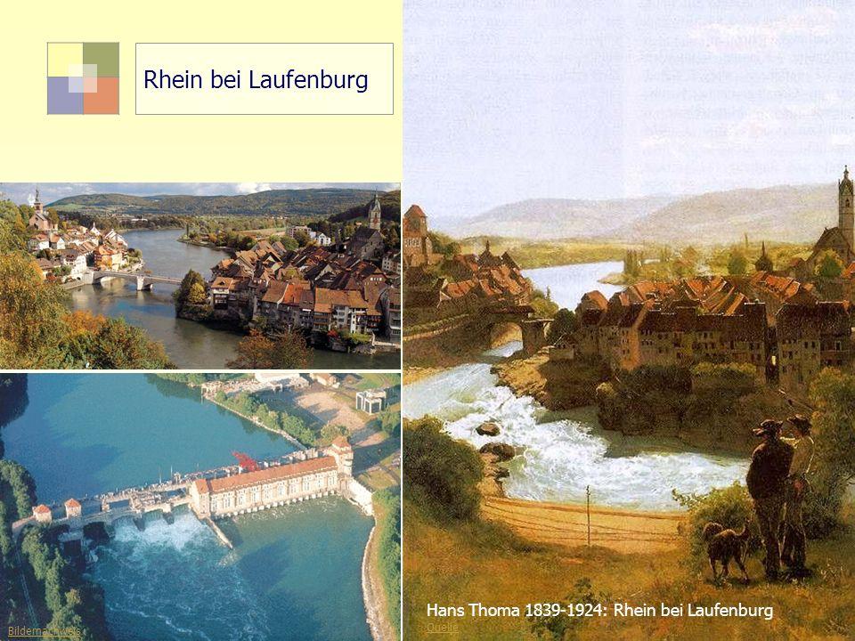 Rhein bei Laufenburg Hans Thoma 1839-1924: Rhein bei Laufenburg