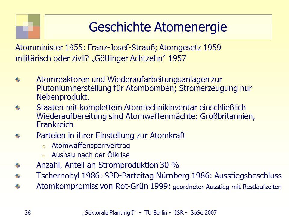 Geschichte Atomenergie